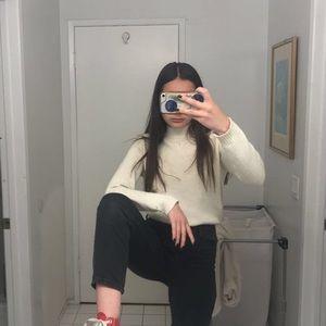 Sweaters - Cream sweater